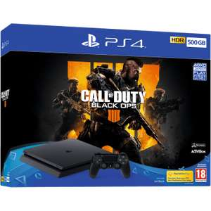 Call of Duty Black Ops 4 PS4 00GB Bundle The Evil Within 2 Assassin's Creed: Odyssey Omega Edition -NOW TV 2 Months Ent Pass £279.99 GAME