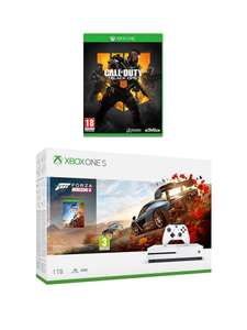 Xbox One S 1TB Forza Horizon 4 with Call of Duty Black Ops 4 and Optional Extras £299.99 Very