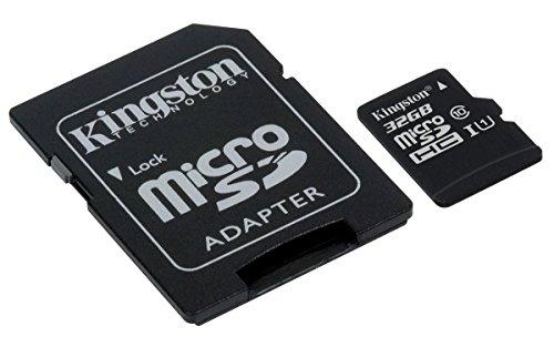 Kingston SDCS/32GB SDCS 32 GB Micro SD Canvas Class10 UHS-I Memory Card £5.55 prime/£6.54 non-prime @Amazon UK