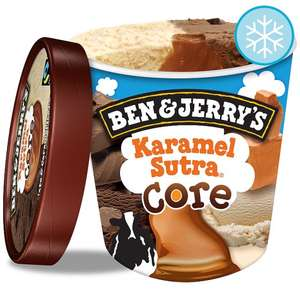 2 for £6 Ben And Jerry's Karamel Sutra Ice Cream 500Ml at Tesco