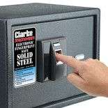 Clarke CS400FP Fingerprint Recognition Safe  For £59.98 @ Machine Mart
