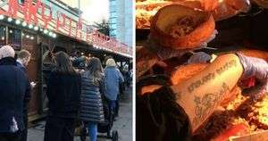 Free Yorkshire Pudding Wraps for Emergency Service Workers @ Manchester Xmas Markets