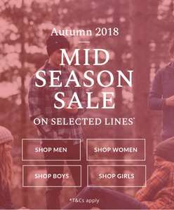 Animal mid season sale. Free delivery and returns.