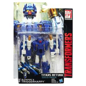 Transformers Titans Return Deluxe Figures £7.99 @ Home Bargains