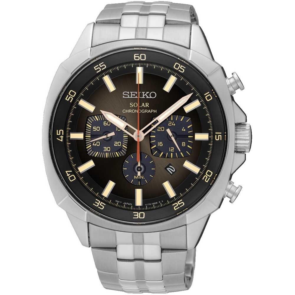 Seiko SSC511P9 Recraft Series Solar Chronograph Men's Watch, £134 at H Samuel