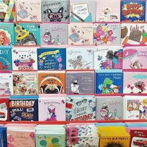 576 Cards for £25 (Online) @ The Works