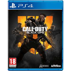 Call of Duty: Black Ops 4  (PS4 / XB1) £48 instore now @ Tesco (Stockport)