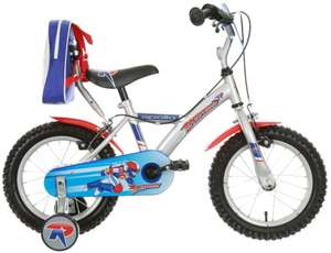 """Apollo Rocketman Boys Bike Bicycle 14"""" click and collect only £10 @ Halfords Ebay"""