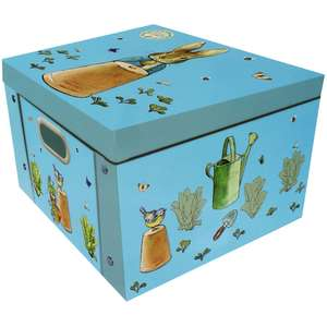 2X Peter Rabbit ( and choice of 15 others) Collapsible storage box, Any 2 for £10 @ TheWorks