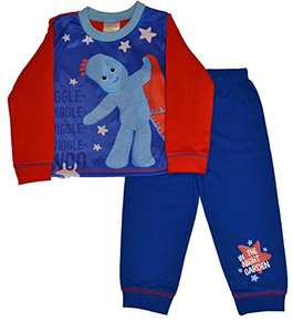 In the Night Garden Boys Iggle Piggle Pyjamas - 18 Months to 4 years. Price from £6.95 @ Amazon Add-on Item (Sold by Jim Jams Direct / FBA)