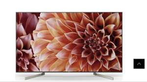 """SONY KD55XF9005BU 55"""" 4K-HDR Smart Android TV with FreeviewHD & Youview at Power direct + plus free sound bar or blu Ray player - £1,149"""