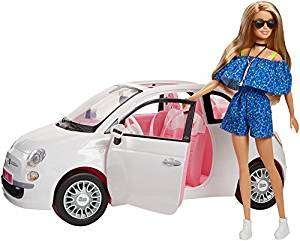 Barbie Doll Car Fiat Multi-Coloured (Mattel Spain fvr07)  £29.99 @ Amazon