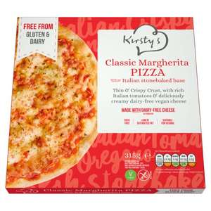 Kirsty's Vegan Margherita Pizza was £3.50 now £2.50 with £1  off voucher in Tesco Magazine @ Tesco