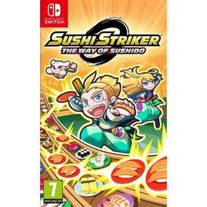 [Switch] Sushi Striker: The Way of the Sushido - £15.85 / GTA V (X1) - £16.85 / Agents of Mayhem (PS4) - £2.95 - TheGameCollection