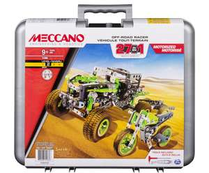 Meccano 27-in-1 Off Road Racers half price Was £59.99 Now £29.99 @ argos