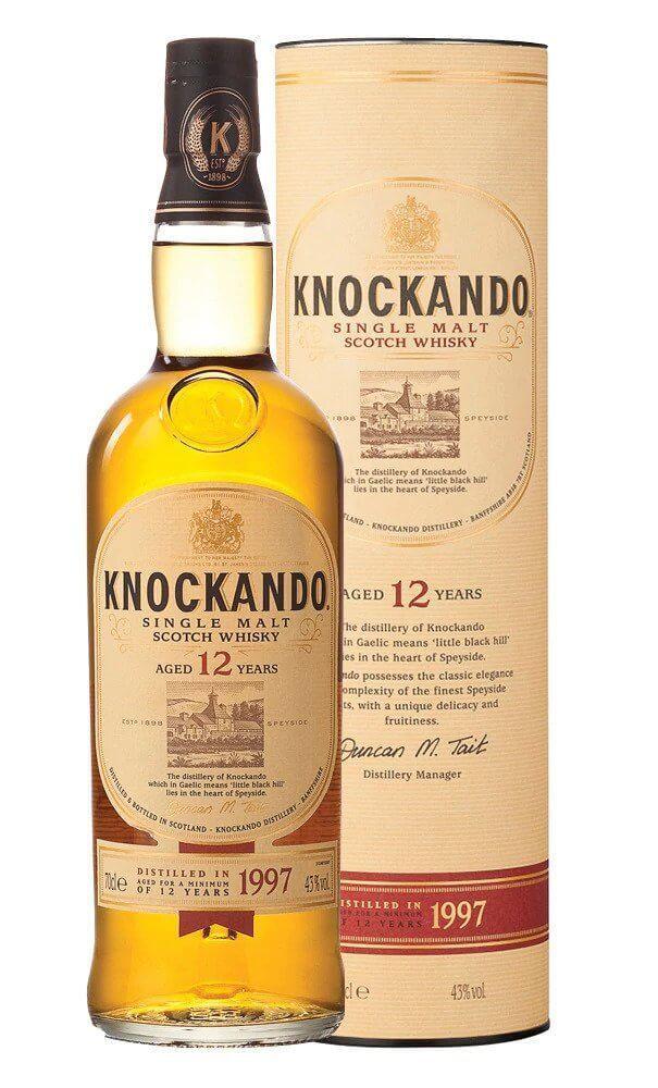 Knockando Single Malt Whisky 12YO. 70cl at Amazon - £31.99