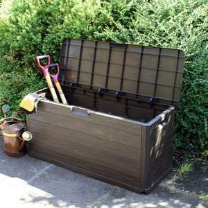 Toomax Wood Effect Outdoor Storage Box 280L@ JFT £34.99 delivered
