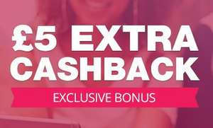 TopCashback Exclusive £5 Cashback Bonus - Your purchase amount should be £10 or more (Invited members only)