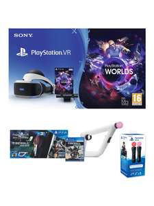 PSVR + VR Worlds + Firewall Zero Hour + Aim Controller + Move Controllers - £279.99 @ Very
