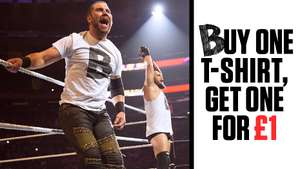 WWE Sale T-Shirts and buy one get one for £1 @ WWE Euroshop
