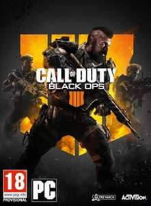 Call Of Duty Black Ops 4 PC Download £37.99 @ Electronic First