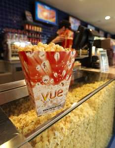 FREE regular popcorn at any Vue cinema when you buy a drink