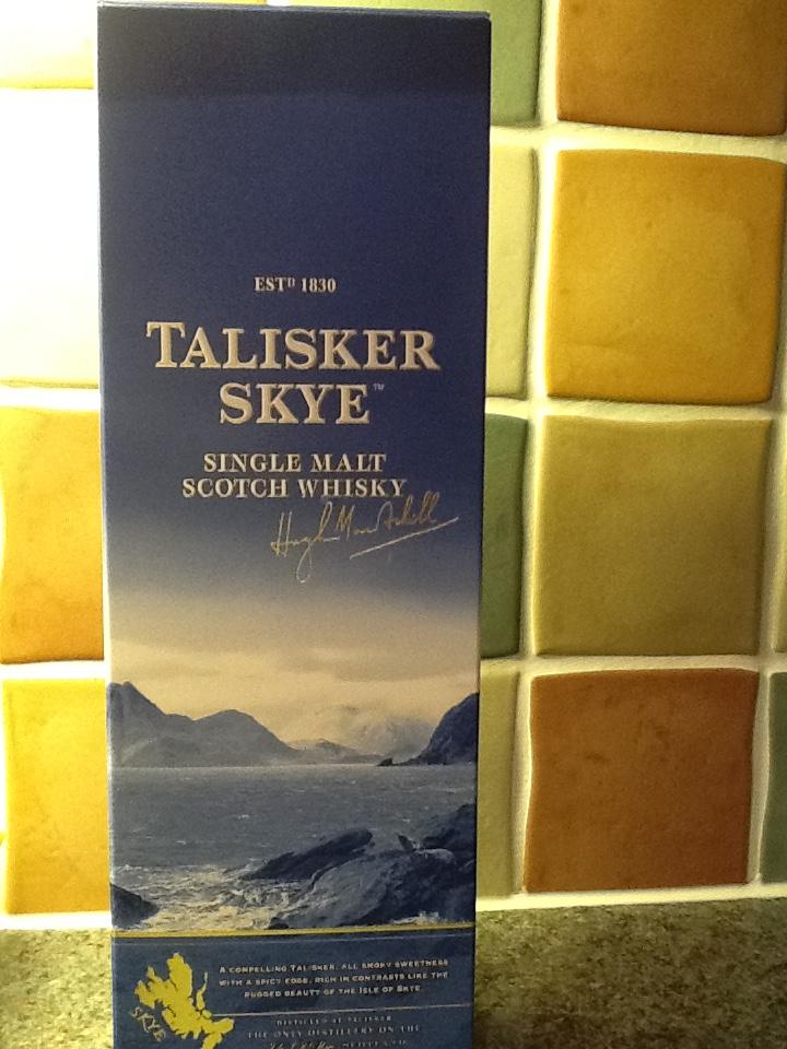 Talisker Skye Single Malt Whisky 70cl £25 at Tesco
