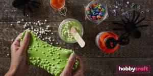 FREE Kids' Craft Club: Slime Making 29th, 31st and 2nd November (Selected Stores...) by Hobbycraft