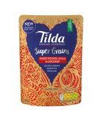 Tilda Super Grains Garlic & Ginger  or Sweet Potato, Chilli & Coconut  Instore Sainsburys Hertford - 20p