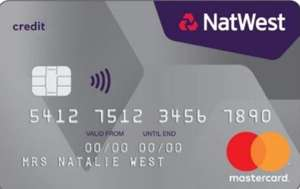 No foreign transaction fees Ever on Natwest Credit Card
