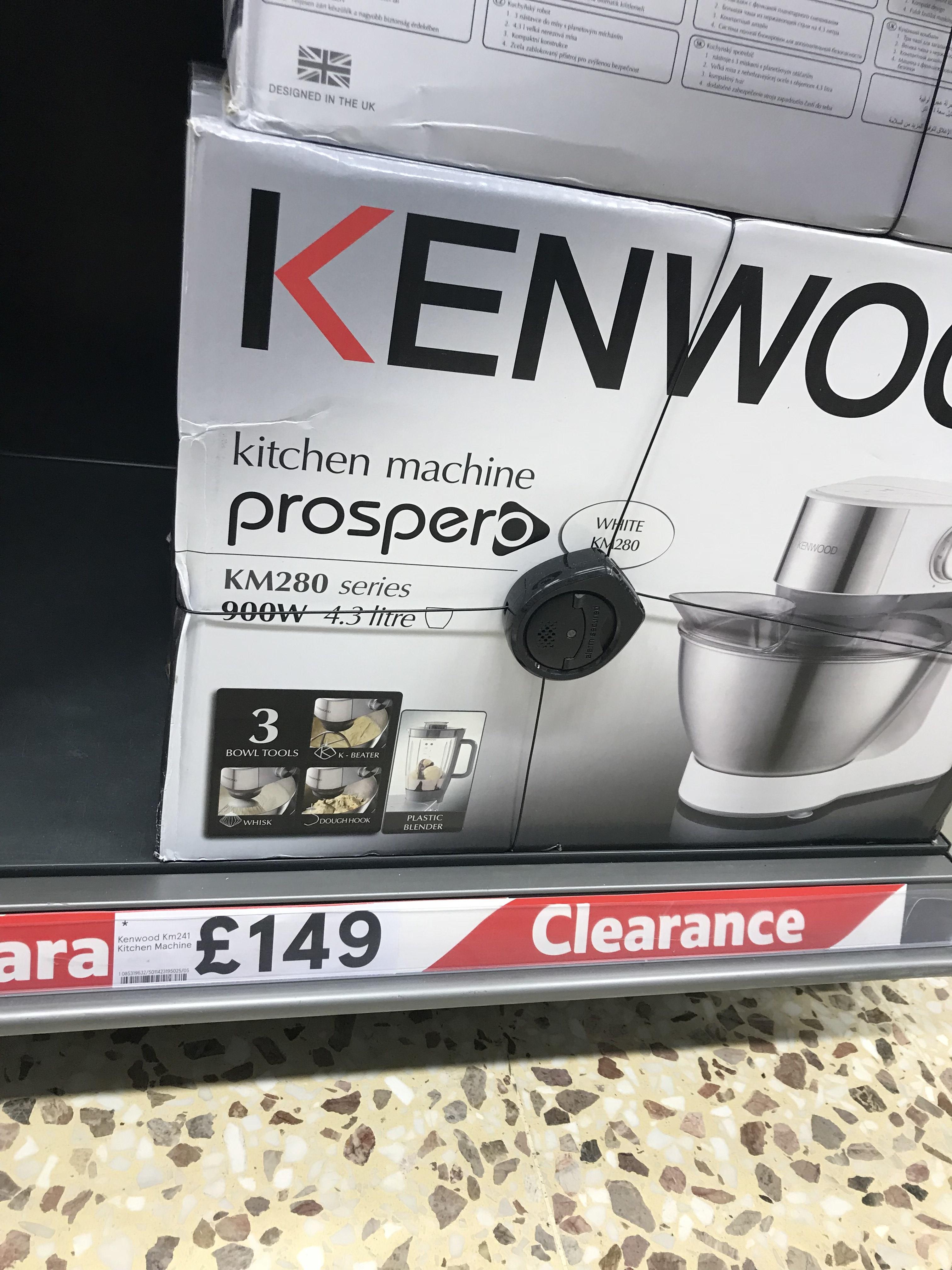 Kenwood prospero machine - £149 instore @ Tesco