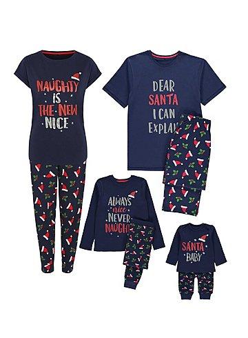 Family Christmas pyjamas from £5 @George asda