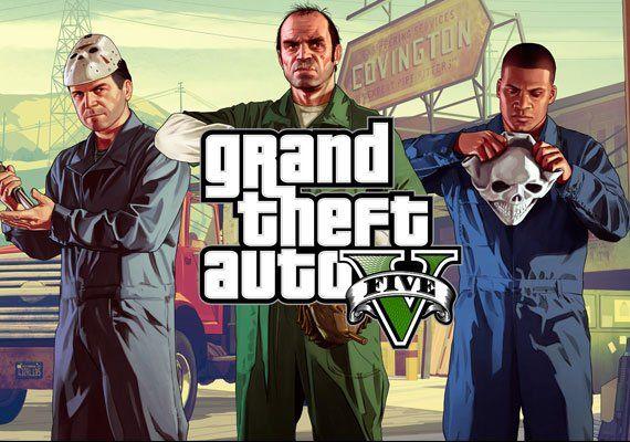 Grand Theft Auto V GTA 5 Rockstar Social Club PC Key £10.84 with code @ Gamivo/CidiKi Ltd.