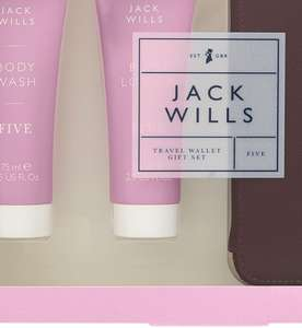Offer stack -save 25% on selected Jack Wills & Champneys gifts + 3 for 2 + triple points + free c+c @ Boots