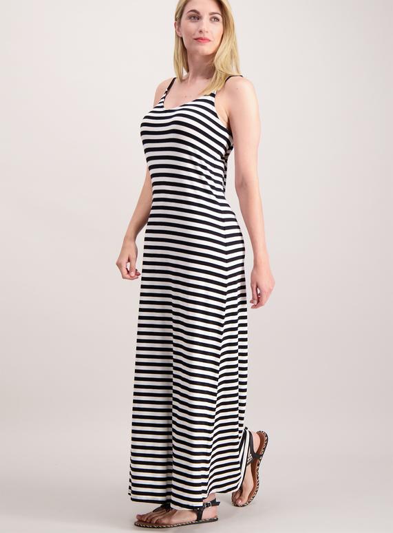 Ladies Tu stripey maxi dress down to £5 from £18
