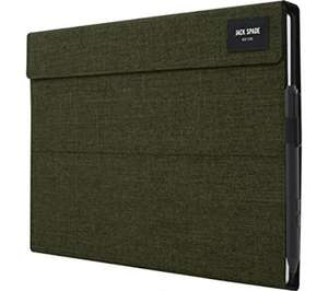JACK SPADE Tech Oxford iPad Mini 4 Folio Case - Grey/ Olive (Free delivery or Collect from Store) - £4.97 @ Currys