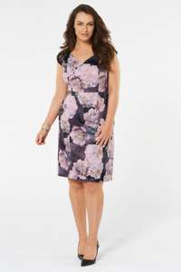 Lace Sleeve Shift Dress for £19 W/C Free C&C or £22.50 Delivered @ Bonmarche