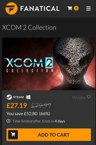 XCOM 2 collection £27.19 @ Fanatical