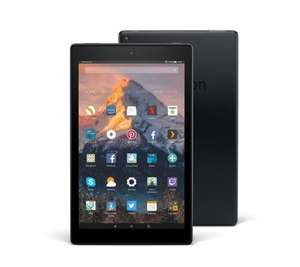 Amazon Fire HD 10 Tablet & Case Voucher, 32GB SD Card(32gb) £118.91 (4 Easy Pays £28.74) (64gb) £143.91 (4 Easy Pays £34.99) Delivered @ QVC