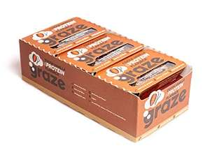 Graze Cocoa Vanilla Protein Flapjack 53g (Pack of 9) only £4.59 on Amazon.co.uk (+ £4.49 delivery non prime)