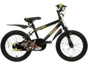 "Indi Demolition Kids Bike Bicycle 16"" Steel Frame Caliper Brakes 5-8 Years Halfords on EBay Free C+C from Store - £50"