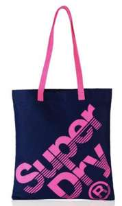 Superdry 100% cotton calico tote bag was £4.99 now £2.50 delivered @ Superdry