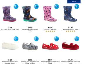 Shoes 2 sets for £10 @ Shoe zone