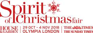 25% off tickets - spirit of christmas fair at olympia, london : 29th october to 4th november, 2018