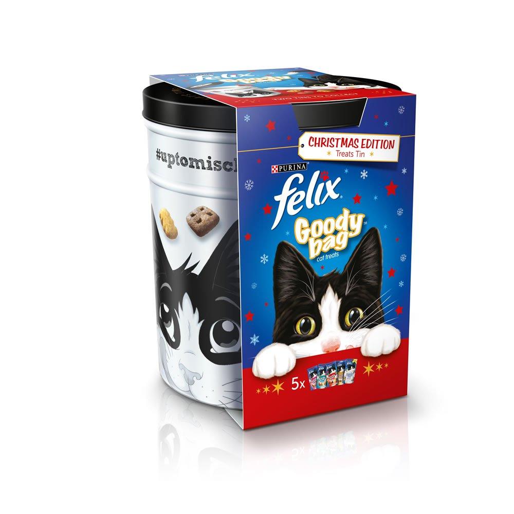 Felix cat treats, 5 packs with tin £4 @ Wilko