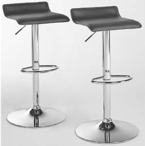 Pair Of Daphne Tuck-Under Bar Stools - Available In Black, Grey Or White £35 W/ Code CLUBWLBPFO @ B&Q (Free C&C)