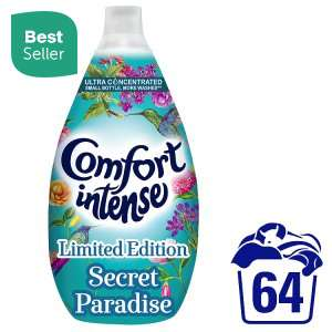 Comfort Intense Secret Paradise Fabric Conditioner 64 Wash 960ml £3 @ Iceland