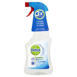 Dettol Antibacterial Surface Cleanser 500ml - Half Price £1 @ Wilko