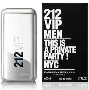 Carolina Herrera - '212 VIP Men' - 50ml EDT @ Debenhams - £30 Free Delivery (SHA5) or Click and Collect