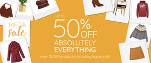 Upto 50% off everything across the site @laredoute